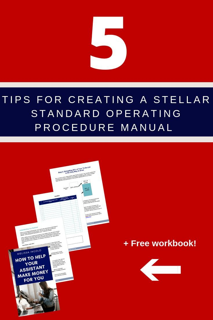 How To Write A Truly Useful Standard Operating Procedure Manual Standard Operating Procedures Manual Standard Operating Procedure Manual