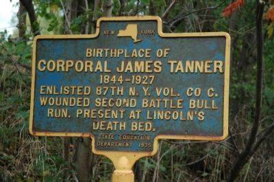 Corporal James Tanner Marker. Click for full size.