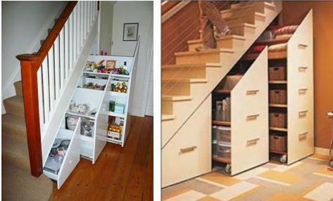 http://www.zomermakelaars.com Ruimte onder de trapkast benutten