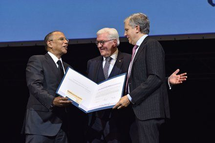 The New York Times Is Awarded German Prize for International Understanding