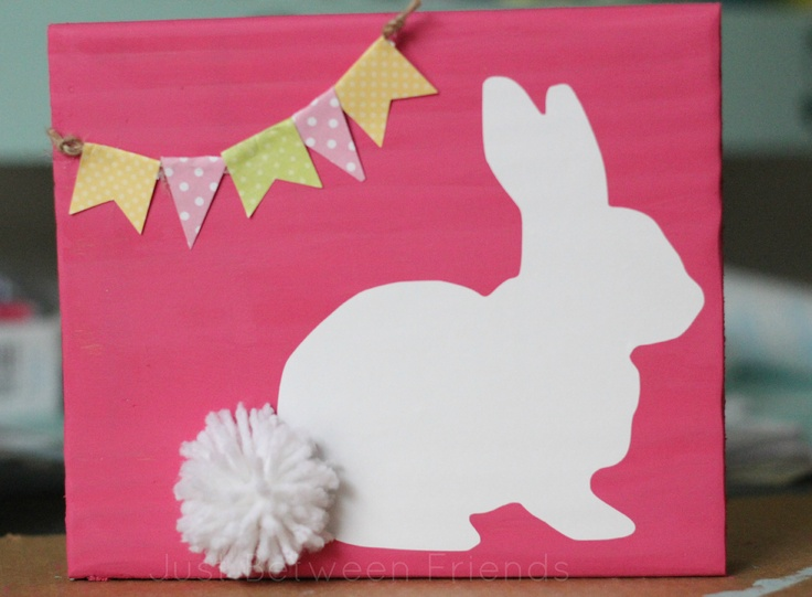 Easter Bunny Craft Idea | Just Between FriendsJust Between Friends