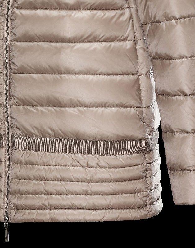 Moncler NARLAY Damen Mantel Für Sie Beige Polyamid 41457282KL