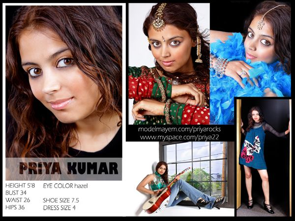 Comp Card Example