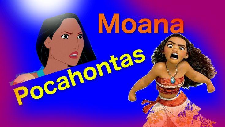 Pocahontas meets Moana