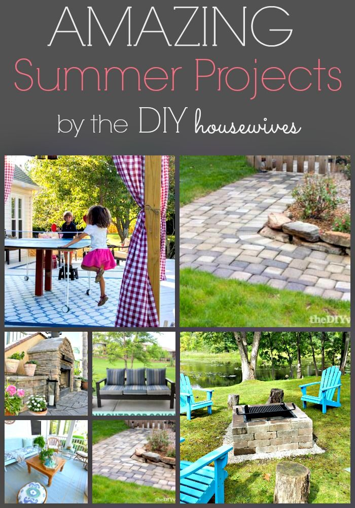 Amazing Summer Projects