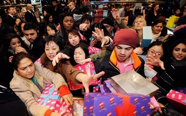 Bumper Boxing Day sales as shoppers embark on £2.7bn spending spree