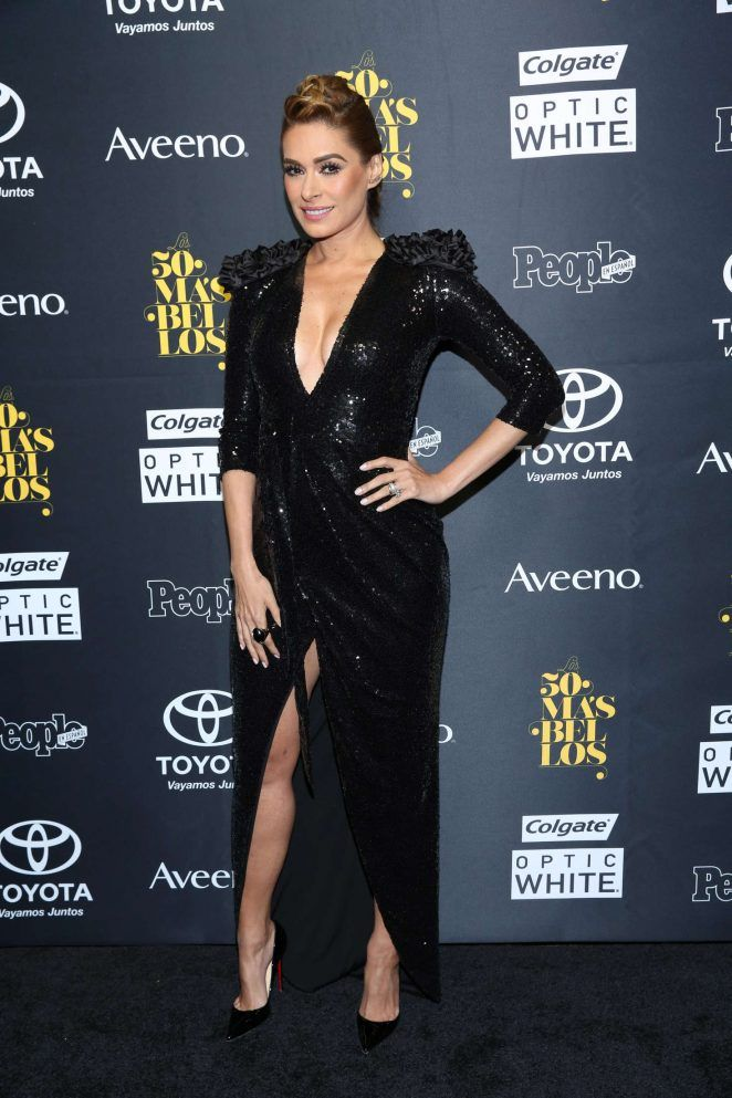 Galilea Montijo - 2016 People En Espanol '50 Most Beautiful' in New York