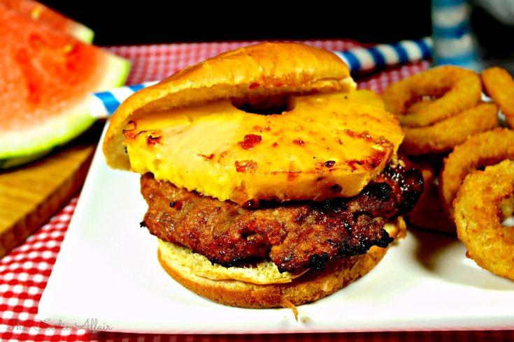 Teriyaki Turkey Burgers And Homemade BBQ Sauce Recipe — Dishmaps