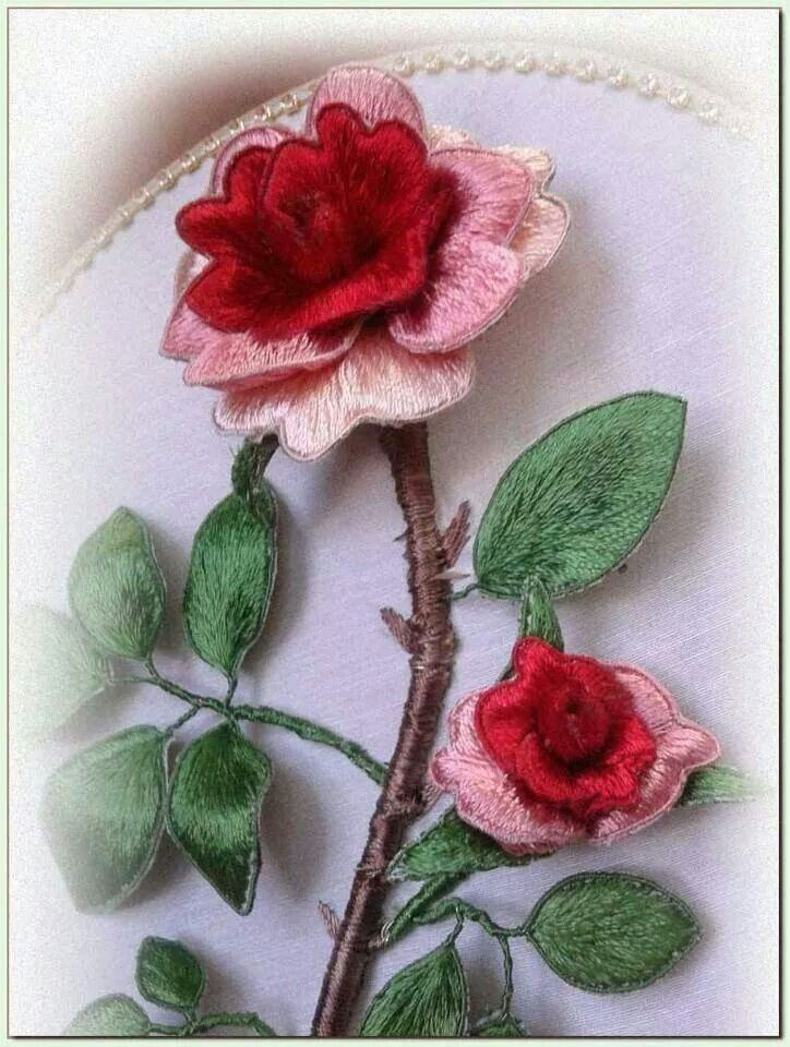 *EMBROIDERY ~ Stumpwork