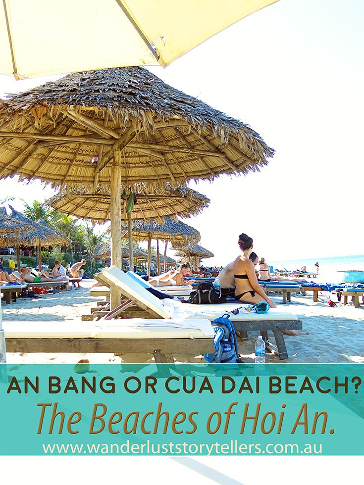Travel to Hoi An, Vietnam to visit its beautiful Beaches - An Bang and Cua Dai. They should be on your list of things to do for your Vietnam Holiday.