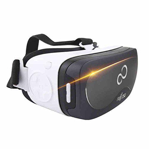 VR Virtual Reality 3d gafas Una máquina de auriculares cascos de juego de 360  Panorámica Bluetooth Handle