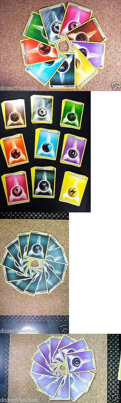 Pok mon Mixed Card Lots 104049: (=O=) ?Basic Nrg Pokemon Cards? 12 Of Each Of The 9 Types = 108 Energy Cards -> BUY IT NOW ONLY: $40 on eBay!