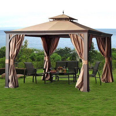 Sunjoy Monaco Gazebo 9 X 12 X 10    Click Image For More Details. Find This  Pin And More On Plant Support Structures ...