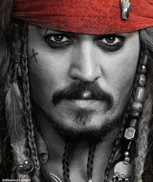 Captain Jack Sparrow - Johnny Depp Pirates of the Caribbean