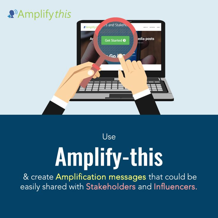 Create amplification message and share the social content with internal Stakeholders and influencers to enhance social reach. For more details, visit: http://bit.ly/2kZqgdl #SocialMediaMarketing
