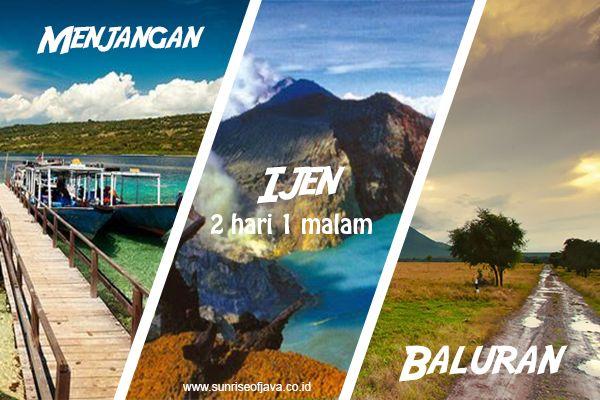 paket wisata menjangan ijen baluran 2 hari 1 malam paling murah di Banyuwangi dan fasilitasnya paling lengkap