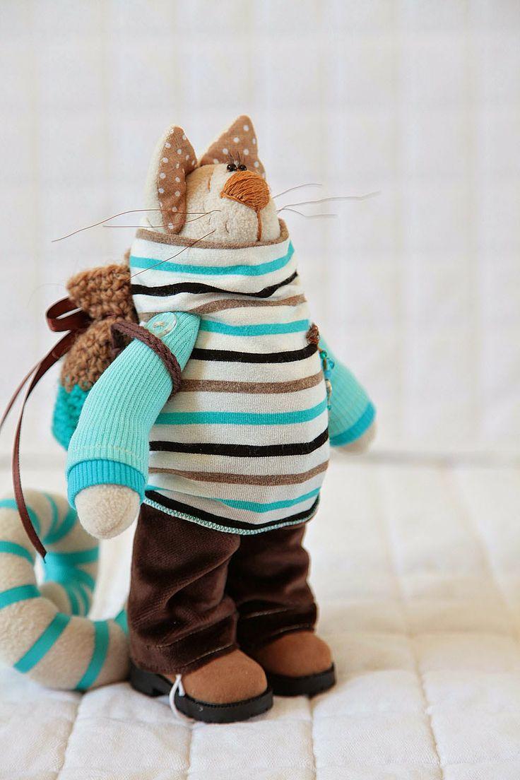 "Toys+things: Котик ""Ветер перемен..."""