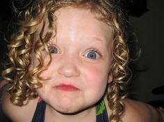 Little Girl with Blonde Curly Hair | Hair Care 101 for Curly-Haired Tots | Alpha Mom