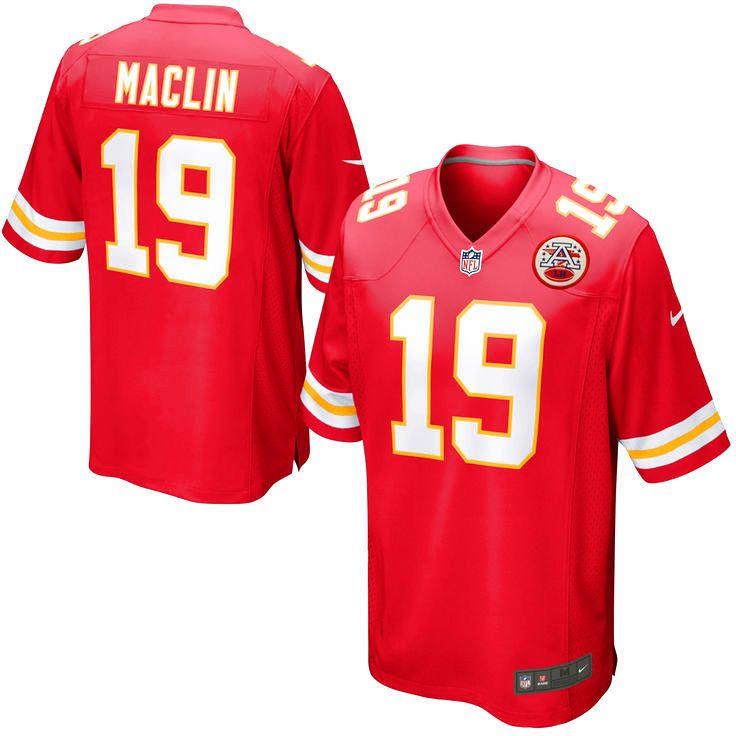 Jeremy Maclin Kansas City Chiefs Nike Youth Game Jersey - Red - $74.99