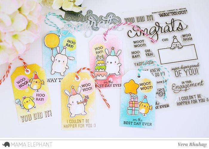 mama elephant | design blog: Congrats All Around with Vera (video)