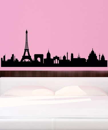 Take a look at this Belvedere Black Paris Skyline Wall Decal by French-Inspired Home Collection on #zulily today!