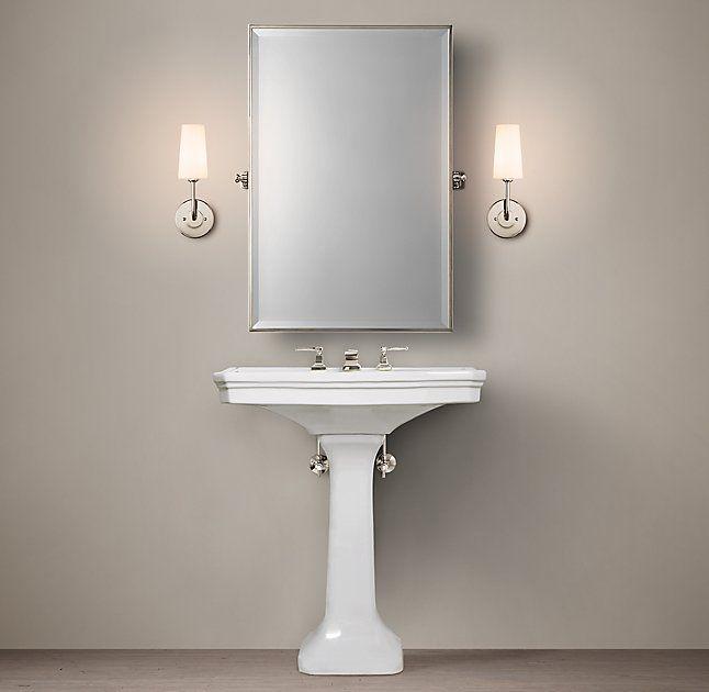 RHu0027s Park Pedestal Sink:Custom Sinks That Balance Classic Style And Modern  Flair.