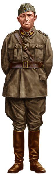 Greek Army officer WW2 - pin by Paolo Marzioli