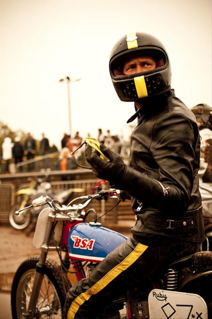 BSA Flat Track Racer - Ruby Castel