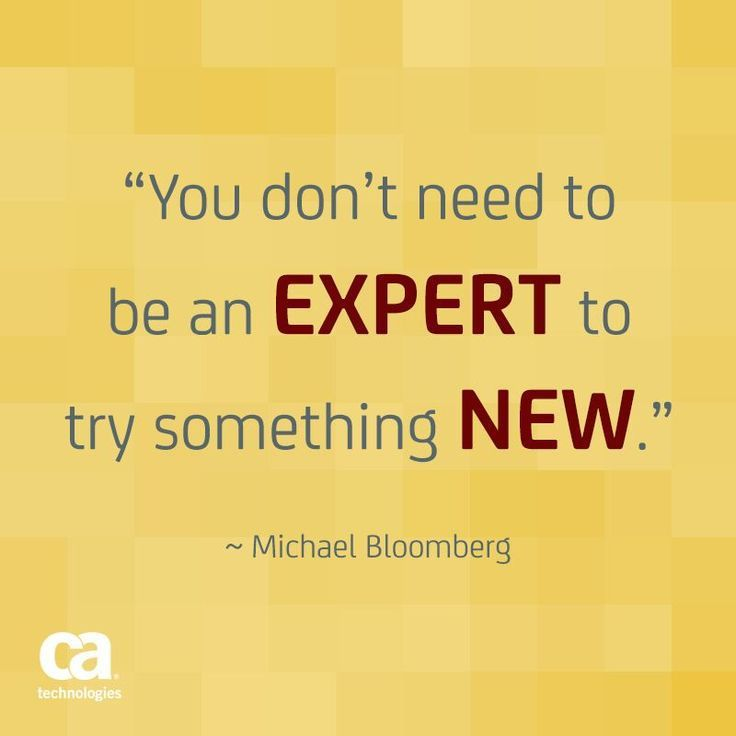 Make it your goal to try something new today!