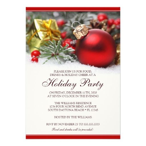 The 25+ best Holiday party invitation template ideas on Pinterest - christmas invitation template