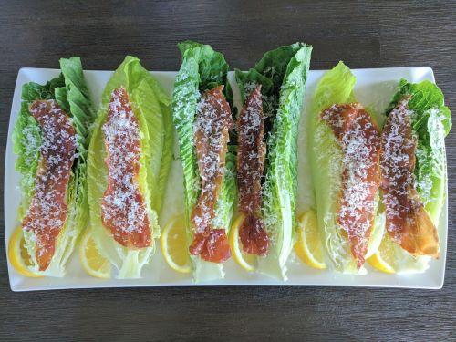 Deconstructed Caesar Salad