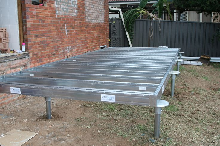 Spantec Steel Foundation And Piers Shed Pinterest