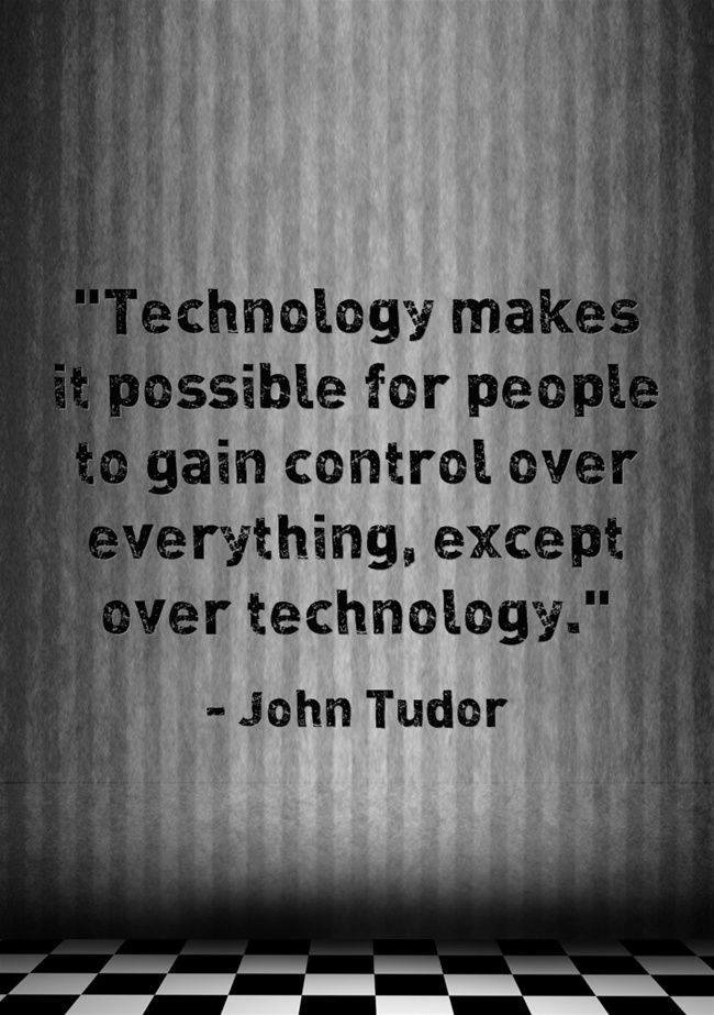technology quotes tech quote famous computer funny education lab control digital language thoughts inspirational makes veldt geek motivational teacher latest