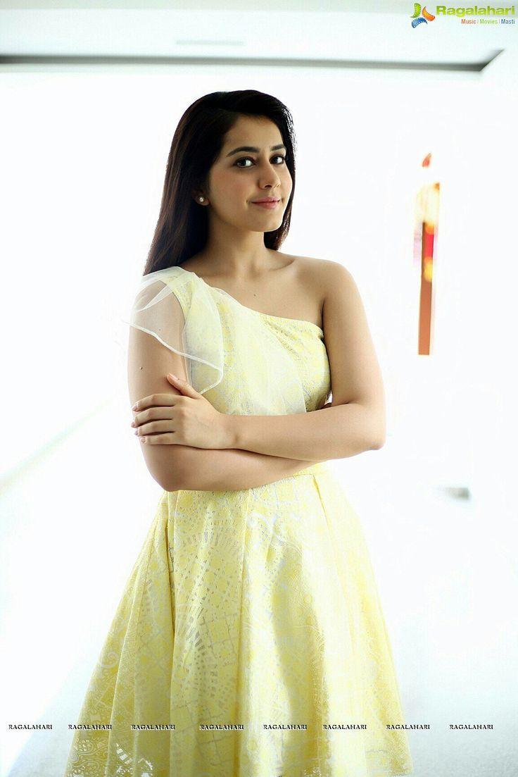 Rashi khanna looking beautiful in gown