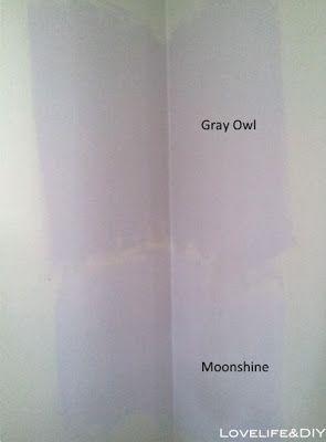 LoveLife: Benjamin Moore - Gray Owl, Moonshine
