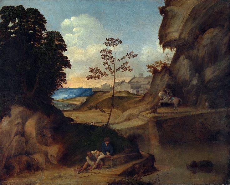 Landschaftsmalerei renaissance  14 besten Giorgione Bilder auf Pinterest | Painting, Italien und ...