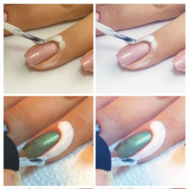 CITY White Peel Off Liquid Tape Peel Off Base Coat Nail Art Liquid Palisade >>> Visit the image link more details.
