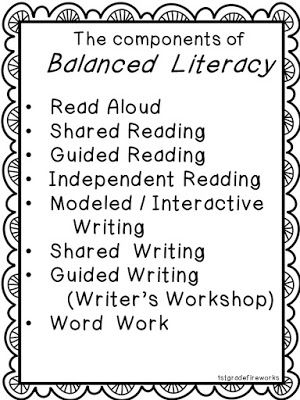 Balanced Literacy in First Grade! Let's start with READ ALOUDS!  
