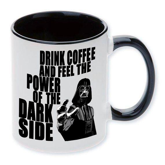 Ceramic mug Drink coffee and feel the power... by MargoMagicJewel
