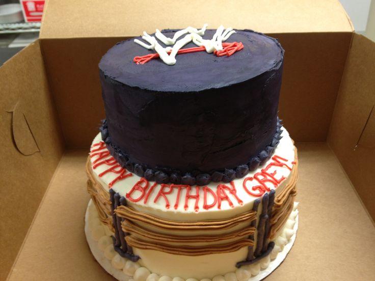 Pin Pin Wwe Raw John Cena Vs Brock Lesnar Cake Picture To