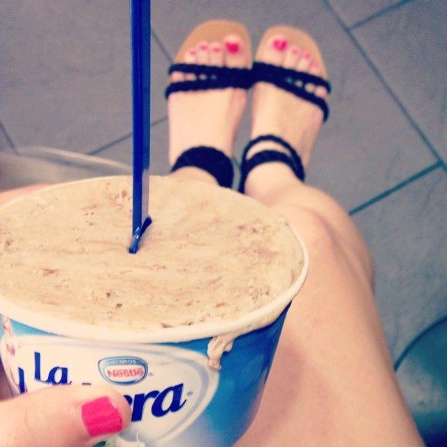 ¿Quién se apunta a un helado de chocolate praline para llevar mejor el calor?  #ideassoneventos #helado #icecream #chocolate #chocolatepraline #descanso #relax #disfrutar #descanso #desconexión #feliz #relax #vacaciones #holidays #asturias #paraísonatural