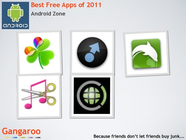 Best Free Apps of 2011!