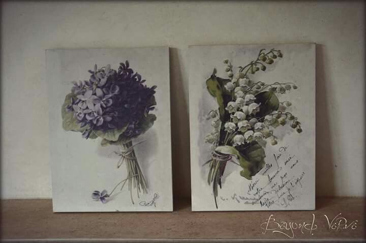 Vintage botanica wildflowers signs - Wedding stationery