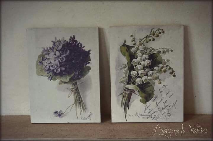 Vintage botanica wildflowers signs - Wedding stationery