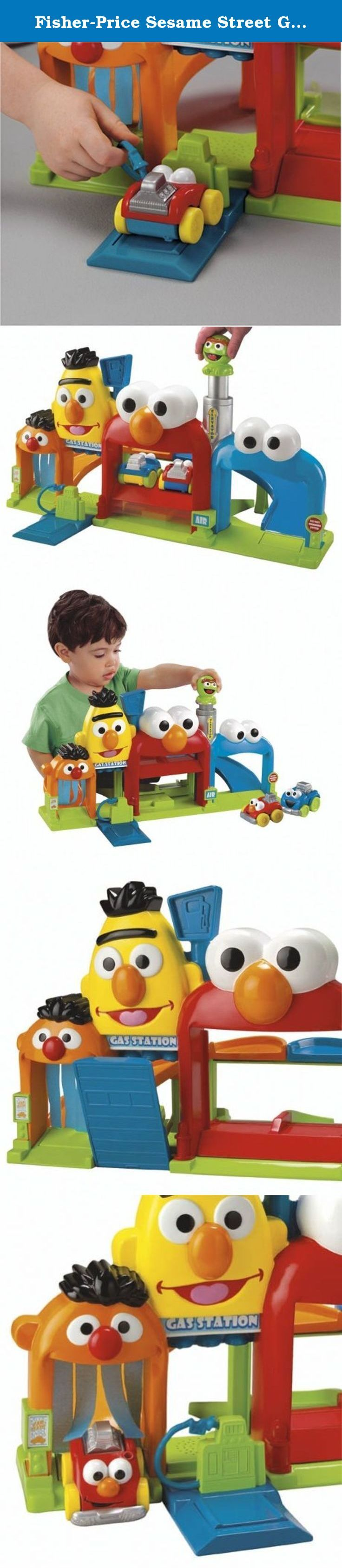 Fisher-Price Sesame Street Giggle 'N Go Garage. Four familiar friends invite preschoolers to explore this adorable garage.