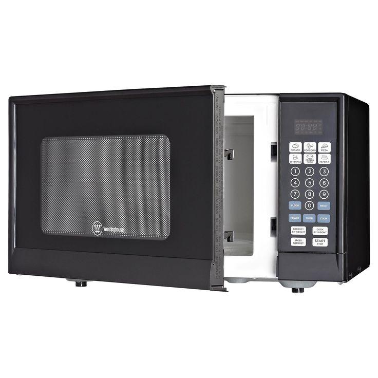 Westinghouse Black Microwave (Plastic)