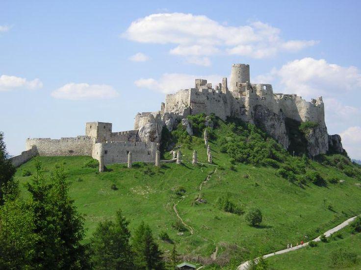 Eslovaquia Castillo de Spiš