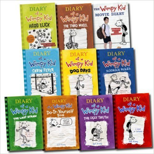 29 best wimpy kids books and games images on pinterest wimpy kid jeff kinney 10 books set diary of a wimpy kid collection hard luck movie diary third wheel cabin fever the ugly truth dog days do it yourself book solutioingenieria Gallery