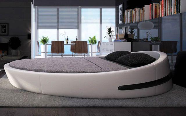 camas redondas para la decoraci n de dormitorios galletas y pasteles pinterest. Black Bedroom Furniture Sets. Home Design Ideas