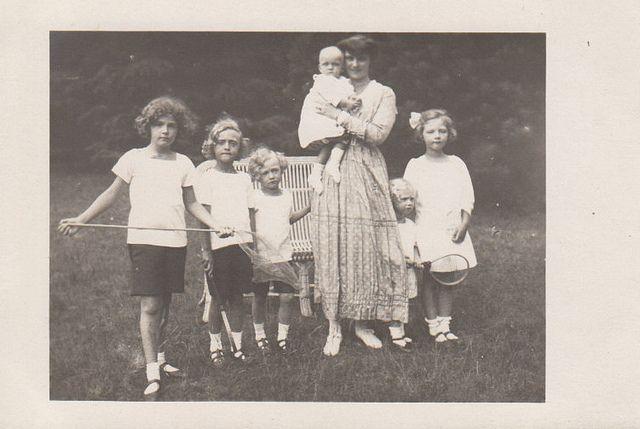 Empress Zita of Austria with her children | Flickr - Photo Sharing!